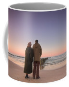 Seniors' Love And Ocean Coffee Mug
