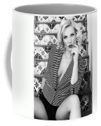 Sensational Stripes Bw Fashion Coffee Mug