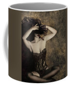 Sensuality In Sepia - Self Portrait Coffee Mug by Jaeda DeWalt