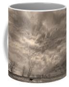 Sepia Angry Skies Coffee Mug