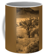 Sepia Cacti Roadside Coffee Mug