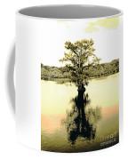 Sepia Cypress Chicot Sp Louisiana Coffee Mug