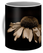 Sepia Daisy Coffee Mug