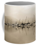 Sepia Harbor Coffee Mug