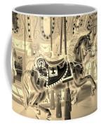 Sepia Horse Coffee Mug