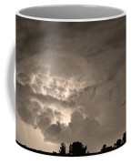 Sepia Light Show Coffee Mug