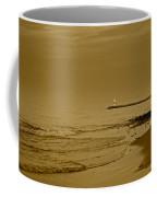 Sepia Lighthouse Coffee Mug
