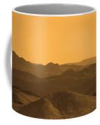 Sepia Mountains Coffee Mug