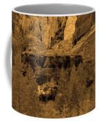 Sepia Red Rock Sedona Coffee Mug