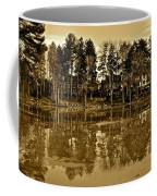 Sepia Reflection Coffee Mug