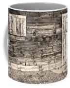 Sepia Rustic Old Colorado Barn Door And Window Coffee Mug by James BO  Insogna