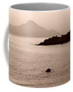 Sepia Seascape Coffee Mug