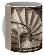 Sepia Spiral Staircase Coffee Mug