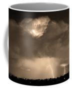 Sepiathunderstorm Boulder County Colorado   Coffee Mug
