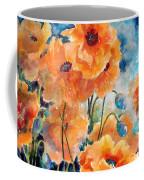 September Orange Poppies            Coffee Mug