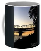 September Sunset On The River Coffee Mug