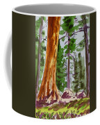 Sequoia Park - California Sketchbook Project  Coffee Mug