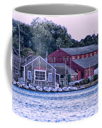 Serene Seaport Coffee Mug