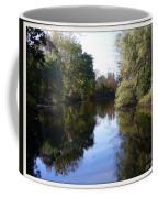 Serenity Pond Reflection At Limehouse Ontario Coffee Mug