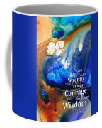 Serenity Prayer 4 - By Sharon Cummings Coffee Mug