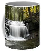 Serenity Waterfalls Landscape Coffee Mug by Christina Rollo