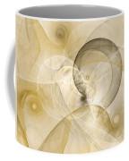Series Abstract Art In Earth Tones 3 Coffee Mug