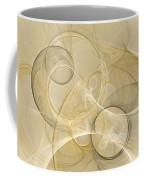 Series Abstract Art In Earth Tones 4 Coffee Mug