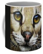 Serval Coffee Mug by Jurek Zamoyski
