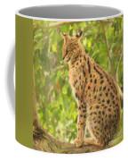 Serval Leptailurus Serval Coffee Mug