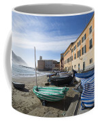 Sestri Levante And Boats Coffee Mug