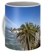 Sestri Levante And Palm Tree Coffee Mug