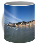 Sestri Levante With Blue Sky Coffee Mug