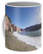 Sestri Levante With The Beach Coffee Mug