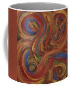 Set To Music - Original Abstract Painting Painting - Affordable Art Coffee Mug