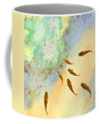 Sette Pesciolini Verdi Coffee Mug by Guido Borelli