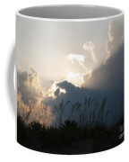 Setting Rays At Sand Dunes Coffee Mug