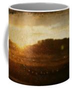 Setting Sun Abstract Coffee Mug