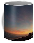 Setting Sun Over The Dunes Coffee Mug