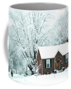 Settled In For The Winter Coffee Mug