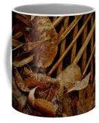Settled Leaves  Coffee Mug