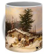 Settler's Log House Coffee Mug