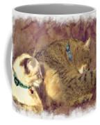 Settling Down Coffee Mug by Susan Leggett