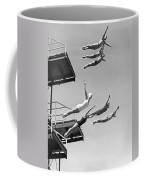 Seven Champion Diving In La Coffee Mug