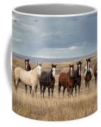 Seven Horses On The Range Coffee Mug