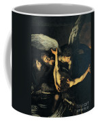 Seven Works Of Mercy Coffee Mug by Caravaggio