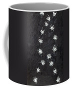 Seventeen Flies Flying - Oil Painting Coffee Mug