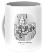 Several Angry-looking Old Men In Suits Sit Coffee Mug
