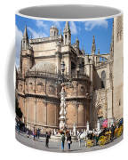Seville Cathedral In The Old Town Coffee Mug