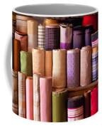 Sewing - Fabric  Coffee Mug by Mike Savad