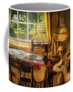 Sewing Machine - Domestic Sewing Machine Coffee Mug